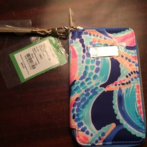 Lilly Tiki Palm iPhone case 6 or simple wristlet